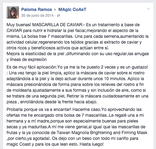 testimonio magic coast