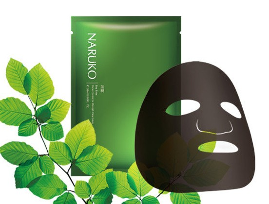 Naruko Tea Tree Shine Control & Blemish Clear Mask (NUEVA MASCARILLA TEA TREE (1ud)