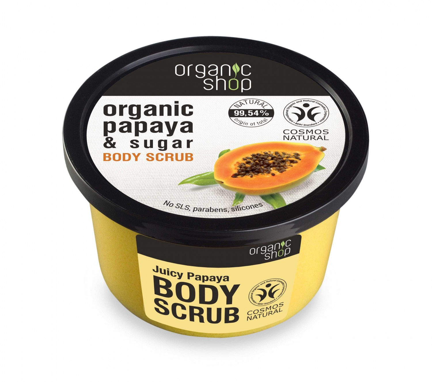 EXFOLIANTE CORPORAL JUGOSA PAPAYA 250ml