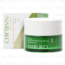 Naruko Tea tree oil out night gelly 60ml